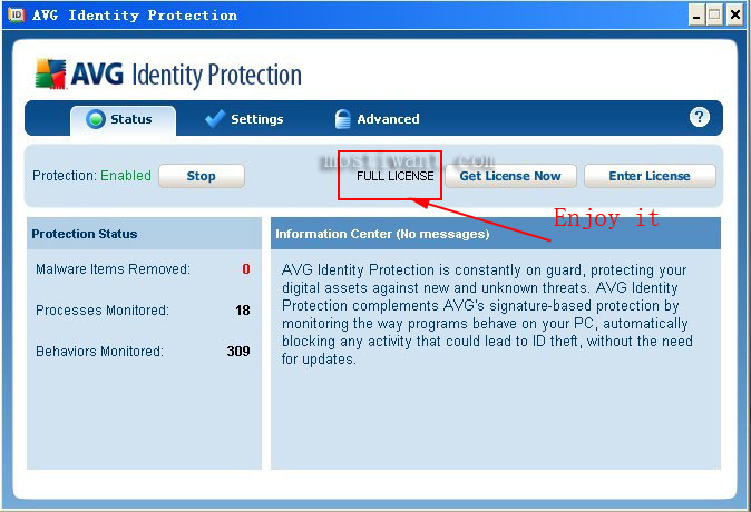 Free to download AVG Identity Protection with lifetime license