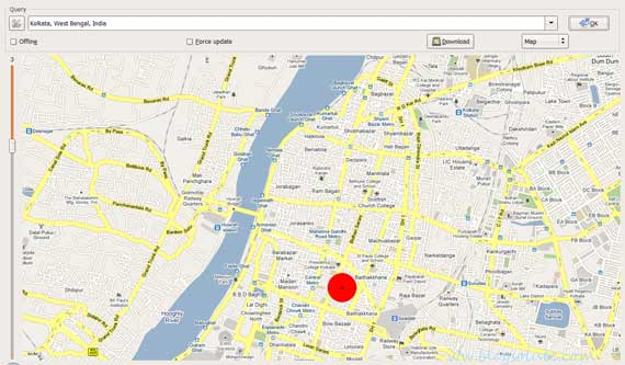 use GMapCatcher  to Download and pocket Google Maps on PC and View Offline