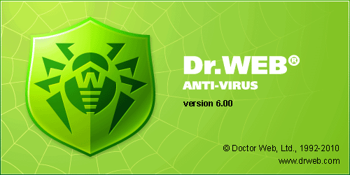 Free to download Dr.Web Antivirus 6 with 1 year License