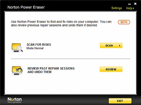 Norton Power Eraser review and free download