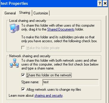 How to share files between XP and Windows 7 computers