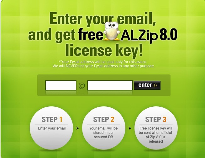 Free to download and get ALZip 8 License key