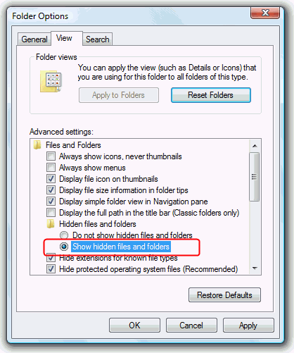 Restore Deleted or Missing Show Desktop icon Shortcut in Windows 7 and Vista