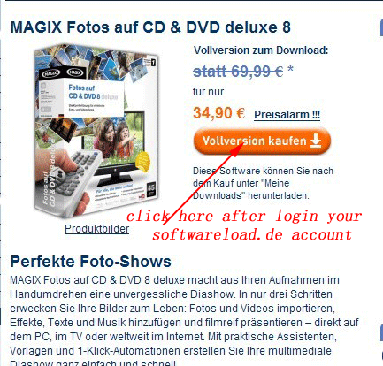 Free Magix Xtreme PhotoStory on CD&DVD 8 Deluxe 2