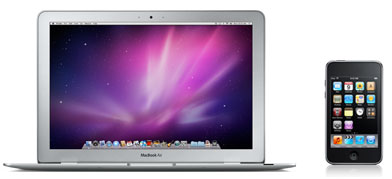 11.6-inch MacBook Air and new iPod touch
