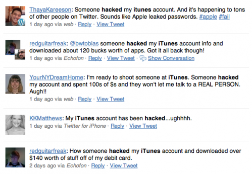 App Store and iTunes accounts hacking more widespread than initially thought.