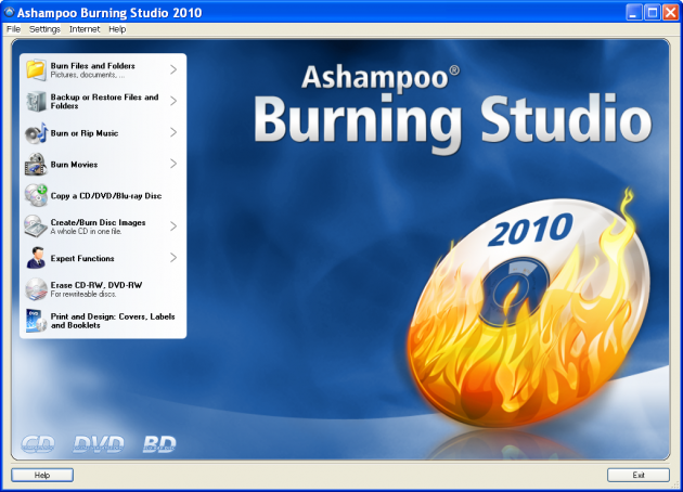 Ashampoo Burning Studio 2010 Free license key