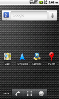 Google map places_homescreen