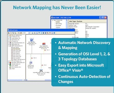FREE LANsurveyor Express For Microsoft Visio