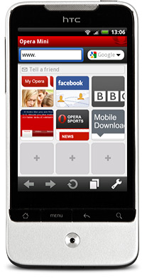 Opera Mini 5.1 for Android