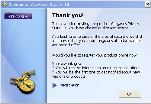 Steganos Privacy Suite 10 Activation