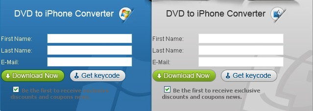 iSkysoft DVD to iPhone Converter (both windows and mac ) for free