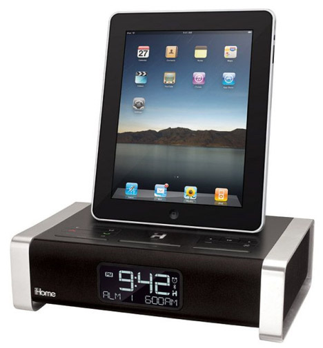 ihome ipad dock alarm clock
