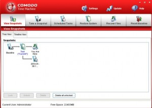 Comodo Time Machine Advanced