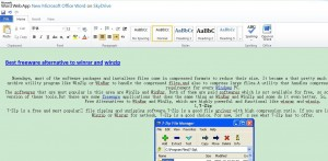 Edit a file with Office Web Apps 1