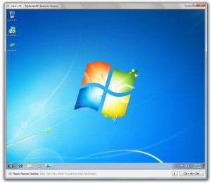 MyGreenPC  Client Session Windows7