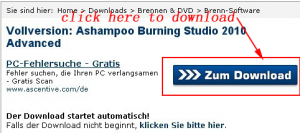 download Ashampoo Burning Studio 2010 Advanced