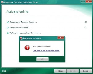 Activate Kaspersky 2011 step4