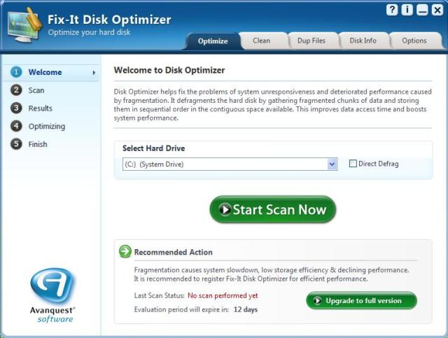 Avanquest Fix-it Disk Optimizer
