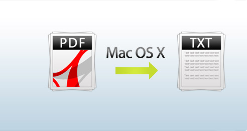 Convert PDF Image to Text on Mac