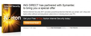 Free 90 Days License for Norton Internet Security 2011