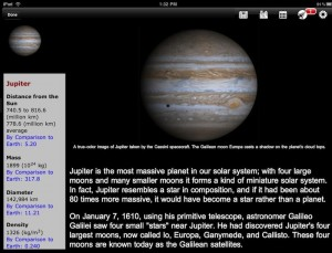 NASA HD iPad app 2