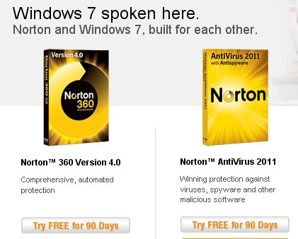 Free 90 Days OEM License for Norton AntiVirus 2011