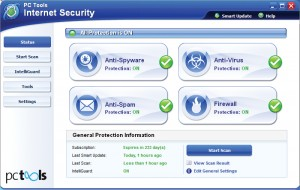 Download PC Tools Internet Security 2010 serial key