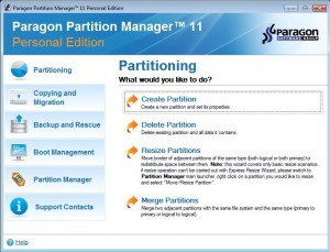 Download Paragon Partition Manager 11 FREE