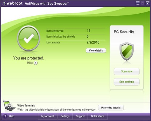 Download Webroot Spy Wweeper 2011 Free with license