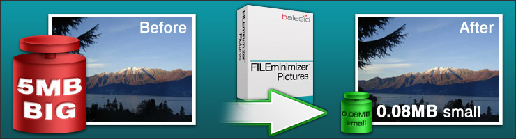 fileminimizer pictures to compress images