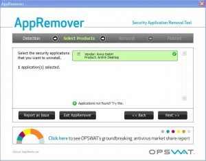 Uninstall and Remove any antivirus software