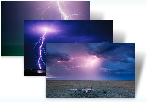 Lightning theme pack for windows 7