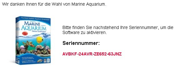 Marine Aquarium 3 Screensaver Serial License Code For Free