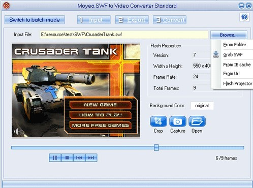 Moyea Swf To Video Converter Standard