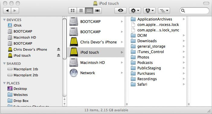 Phone Disk for Mac and PC