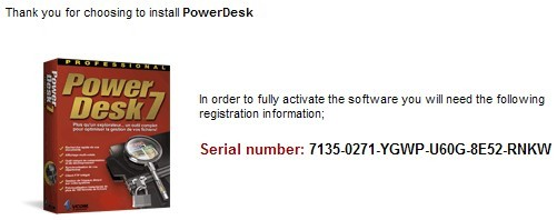 Download Powerdesk Pro 7 Serial License Key For Free