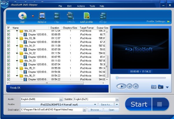 Download iToolSoft DVD Ripper
