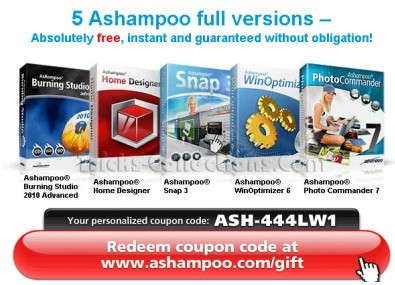 Ashampoo Coupons code