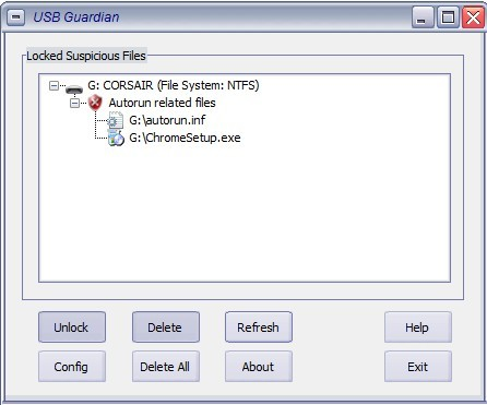 Free USB Worms and Virus Scan Tool