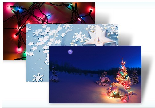 Holiday Lights Theme Pack