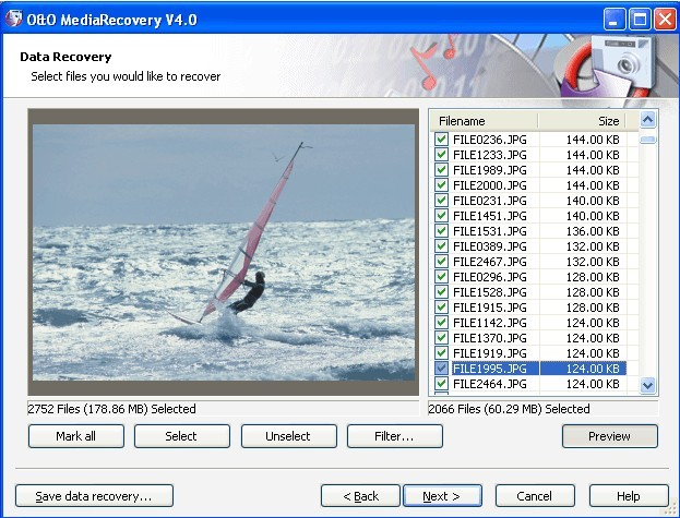 O&O MediaRecovery V4 software