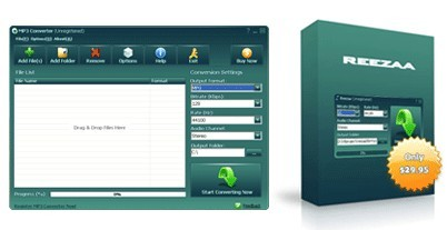 Reezaa MP3 Converter software