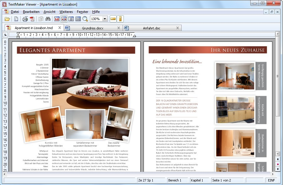 TextMaker Viewer Software 2010