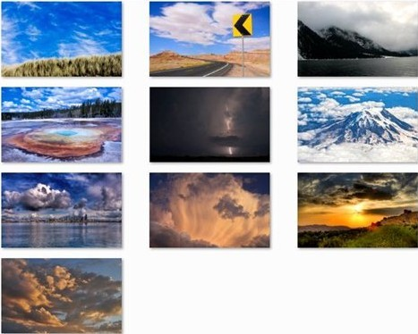 Windows Live Clouds Theme Packs