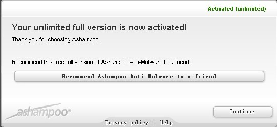 free Ashampoo Anti-Malware full version