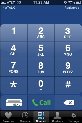 Download netTALK iPhone & iPad App to Make Free Calls
