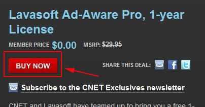 Lavasoft Ad-Aware Pro giveaway