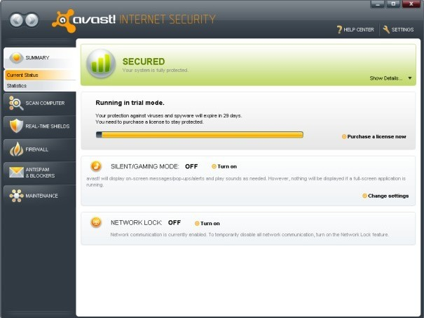 Avast! Internet Security 5.0