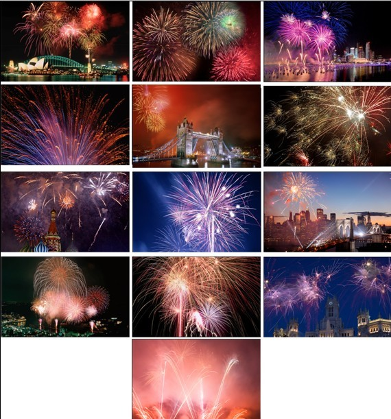 Fireworks Windows 7 Theme Pack